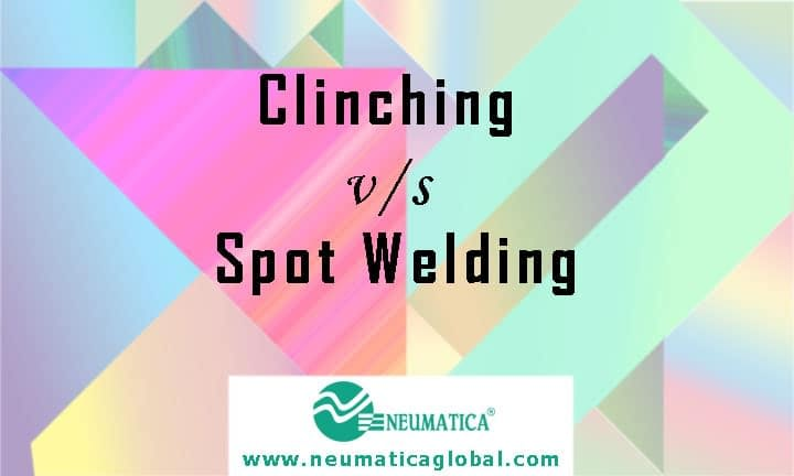 Clinching versus Spot Welding